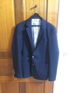 🚚 西裝外套 (深藍)
