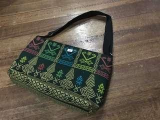 Filipino tribal design bag from Davao