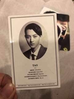 TAO xoxo OFFICIAL PHOTO CARD