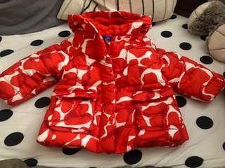 🚚 女童棉衣外套90cm