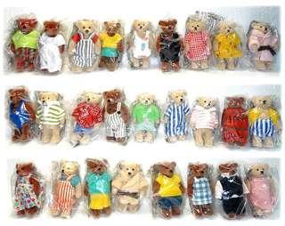 BNIB McDonald's 1999 Teddy Bears Set of 28 Toys