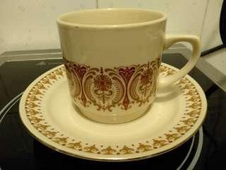 六,七十年代懷舊茶杯套裝(八套).