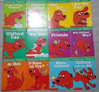 🚚 Children Books. Clifford. Scholastic.