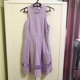 MGP Label pastel purple cheongsam dress