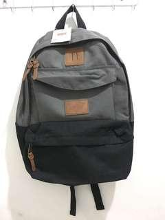 Levi's Backpack Black Canvas w/ Laptop Padded Sleeve