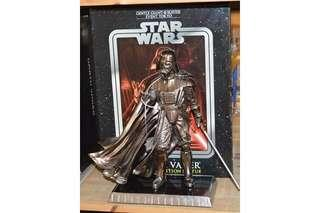 Star Wars Gentle Giant Darth Vader Limited Edition Chrome Statue
