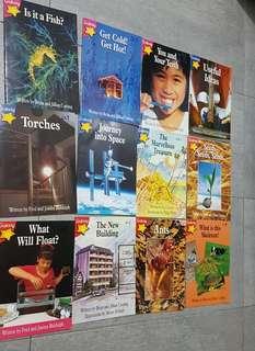 🚚 Galaxy star series books. English . Preschool to lower primary.