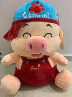 Gigantic Pig Stuffed Toy