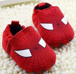 Spiderman prewalker shoes size 6-12m and 12-18m