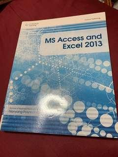 NYP Microsoft Excel and Access 2013