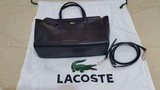Lacoste satchel bag with sling
