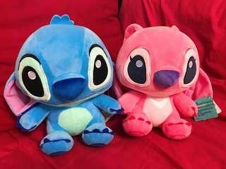 🚚 Stitch Soft Toy Pink & Blue