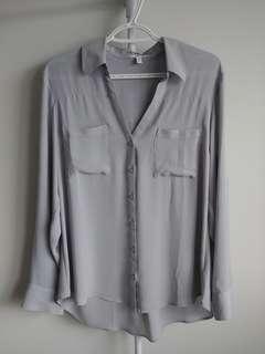 Light grey blouse (Express)