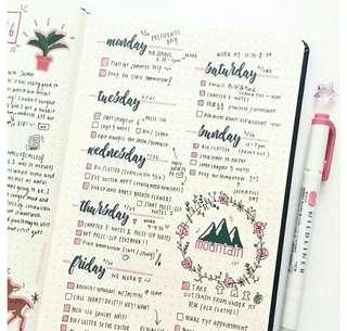 🚚 Bullet Journal Set