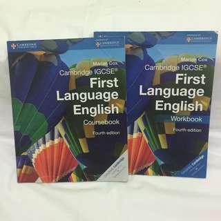 Cambridge First Language English Coursebook and Workbook Set