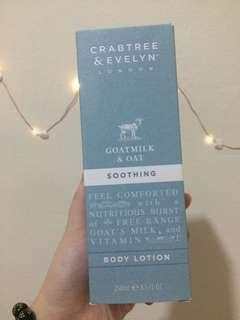 Crabtree & Evelyn Body Lotion