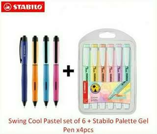 STABILO Swing Cool Pastel Highlighters