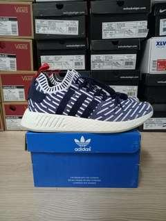 ADIDAS NMD R2 NAVY WHITE RED