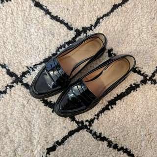 ASOS Black Loafers (4 UK/6 US)