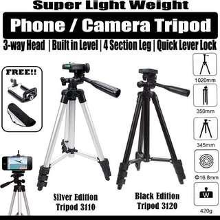 instock Phone / Camera Light Weight 3120/3110 tripod