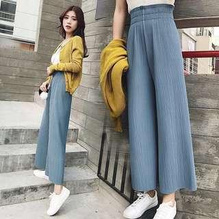 XS culottes / Loose pants (Light blue) #NEW99