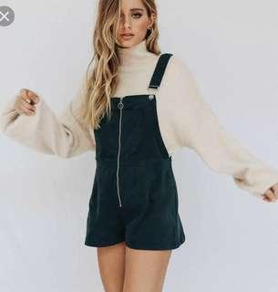 Verge girl overalls