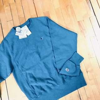 美版藍綠Champion hoodie