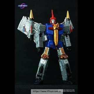 (Price reduced)Mib FansToys (FT) FT-05 Soar (blue chest)