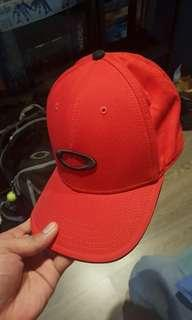 Oakley Red Snapback Cap (Authentic)
