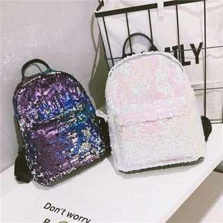 Sequin glitter bling bling backpack standard size preorder