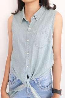 Atasan Jeans Wanita