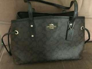 Authentic Coach Tote Bag with Certificate