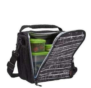 🚚 BN Rubbermaid Insulated Lunch Bag - Light Weight with removable sling