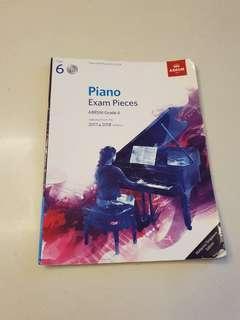 ABRSM Grade 6 Piano Exam Pieces 2017 & 2018 Syallabus (With CD)