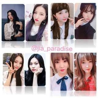 [PO] Gfriend individual member 100 photocard / lomo