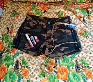 Camouflage Sexy Short