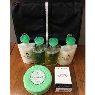 bvlgari perfume bath set with soap