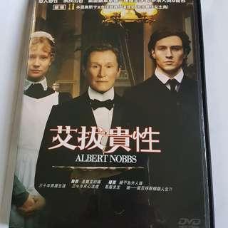 DVD Albert Nobbs 艾拔貴性
