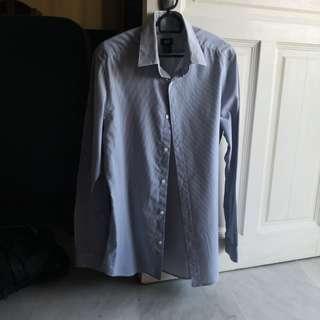 H&M men's formal shirt
