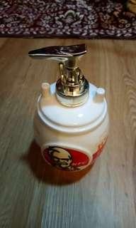 kfc ceramic soap dispenser