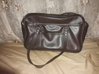 [UP: RM30]Brown Leather Japanese School bag