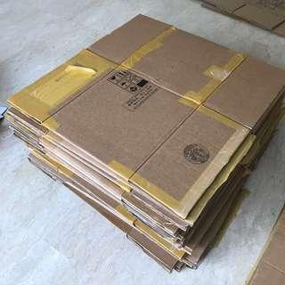 Cardboard Boxes (38x38x38cm) - for house moving