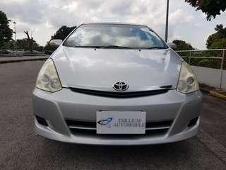 Toyota Wish 1.8A for Rent