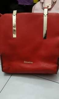 Les catino totebag red