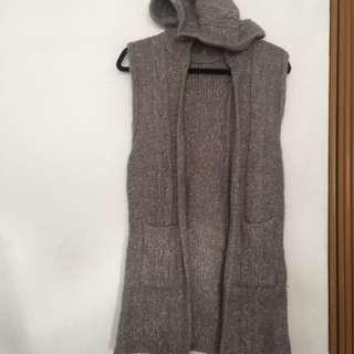🚚 灰長版毛衣