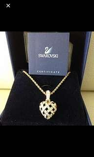 BNIB Swarovski Heart Shape Necklace