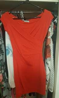 Kookai size 1 red dress