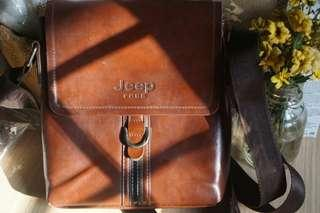 Leather Jeep Bag