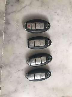 Original Nissan keyless remote for sale