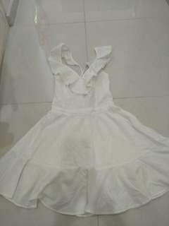 White Dress from cotton on